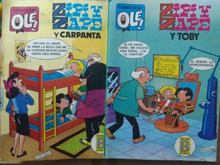 2 cómics Zipi y Zape