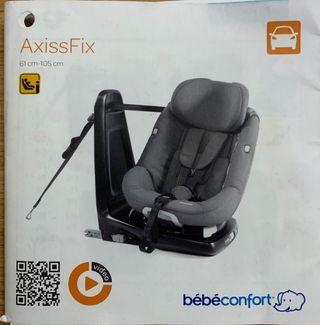 Axiss fix bebeconfort silla coche isofix