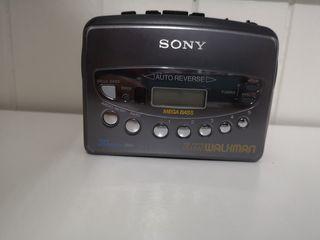 Walkman Sony Mega Bass para cassette