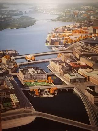 cuadro pintura original Stockholm