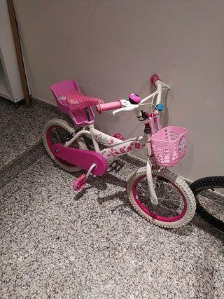 bici niña barbie