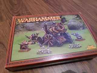 Cañon Infernal Caos Warhammer