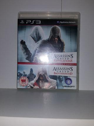 Assasins Creed Revelations y Brotherhood PS3