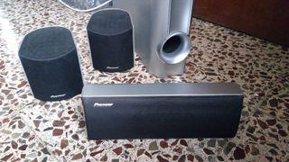 Altavoces Pioneer 4 x 100w a 6 Ohm
