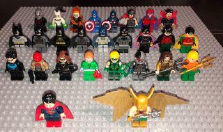 Figuras Superhéroes Lego Originales