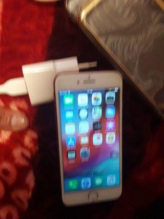 iphone 7.con cargador y dos fundas de regalo