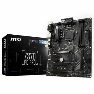 I5 8600K + 970 WINDFORCE 4GB + MSI Z370 PC PRO