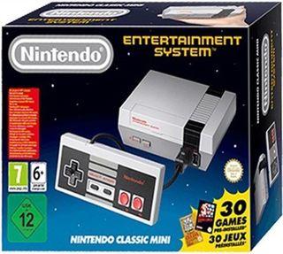 Nintendo nes mini precintada