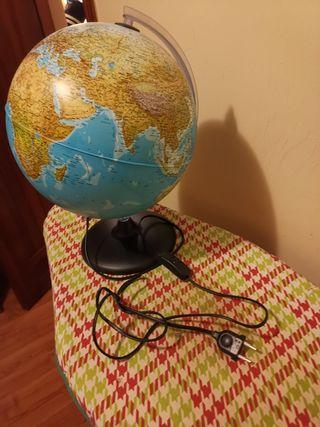 bola del mundo / lámpara