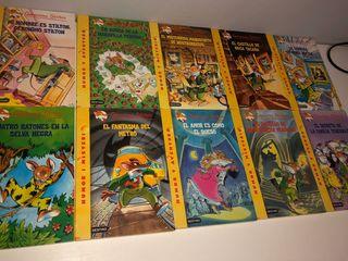 Pack de 18 libros de Geronimo Stilton