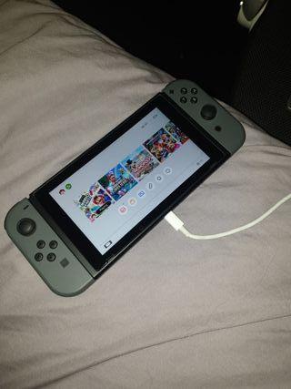 black Nintendo switch new