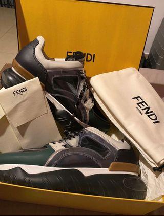 fendi leather shoes men #42.5
