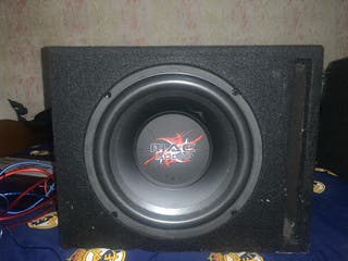 Subwoofer mac audio + amplificador
