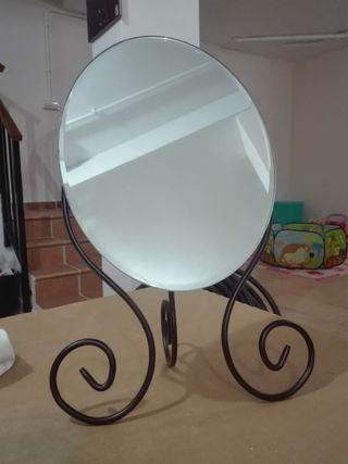 Espejo ikea tocador forja