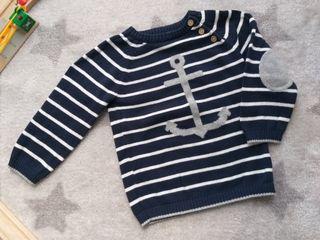 Jersey marinero H&M. 12/18 meses