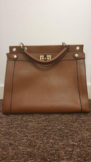 Brown woman bag