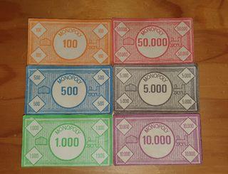 Billetes Monopoly