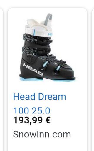 botas esqui head dream