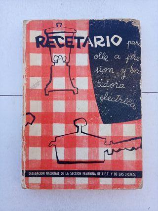 Recetario Cocina 1961