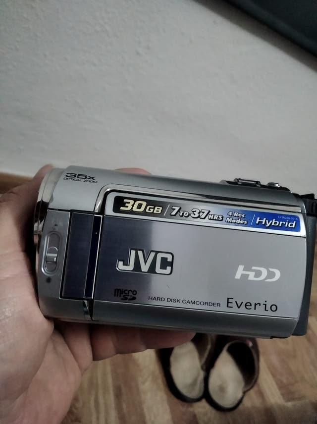 cámara jvc