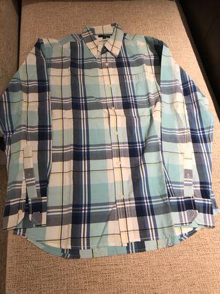 camisa azul tL/G