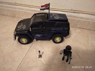 Playmobil,4x4,soldados,lote,coche,furgón,camión