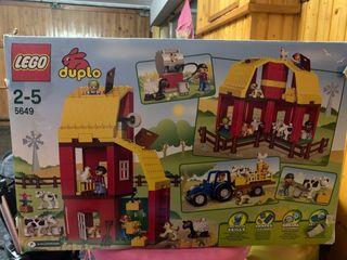 Lego duplo granja + tren de regalo