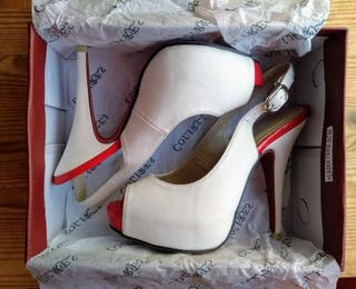 zapatos tacón de aguja 35
