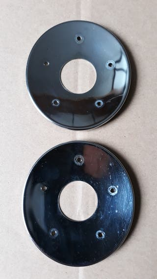 Yamaha V-max 1200 tapas traseras escapes.
