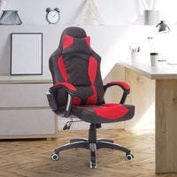 Silla de Oficina Gaming Reclinable y Giratoria con