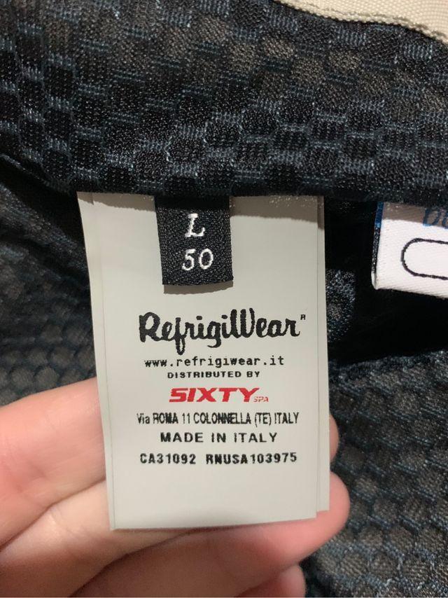 chaqueta refrigiwear hombre talla L