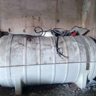 Deposito de Poliester de 5000 litros con bomba