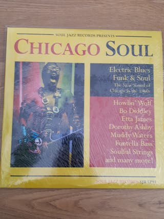 Soul Jazz Records Chicago Soul