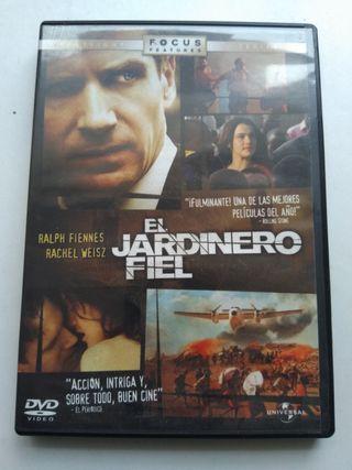 DVD EL JARDINERO FIEL
