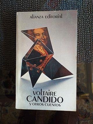 """LIBRO:""""CANDIDO Y OTROS CUENTOS"""" DE VOLTAIRE"""