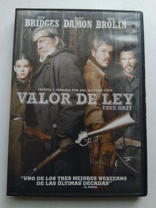 DVD VALOR DE LEY