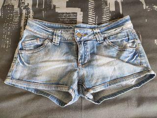 Shorts tejanos