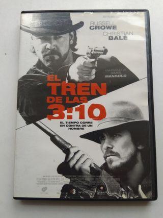 DVD EL TREN DE LAS 3:10