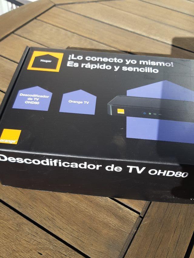 Decodificador TV Orange OHD80