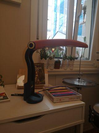 lámpara flexo escritorio infantil tucan vintage