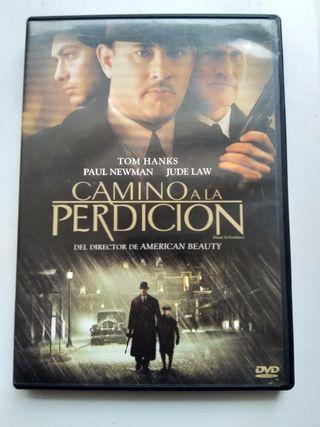 DVD CAMINO A LA PERDICIÓN