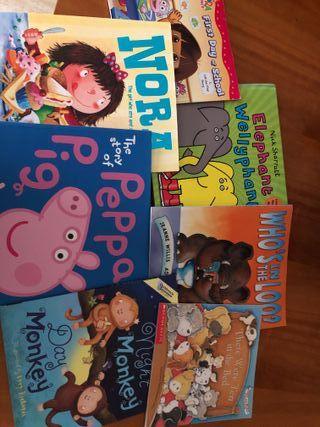 Libros infantiles en inglés
