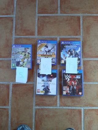 Juegos PS4 completos