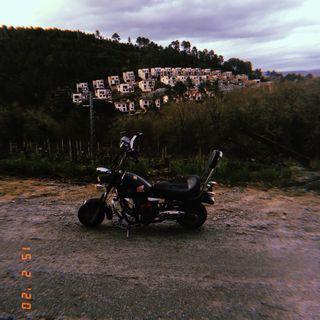 Mini moto Harley