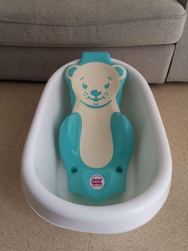 Bañera y soporte bebé /recién nacido