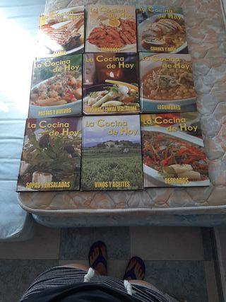 Vendo libros de cocina