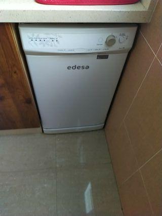lavavajillas pequeño marca Edesa