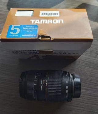 """Objetivo Tamrom AF70-300 para Nikon con""""Tara """""""