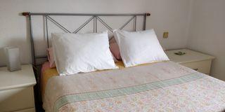 Cabecero metálico para cama 135 cm