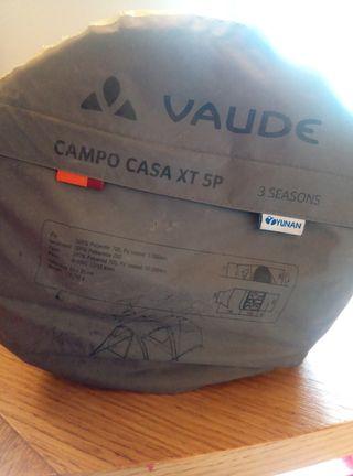 tienda campaña Vaude Campo Casa XT 5P